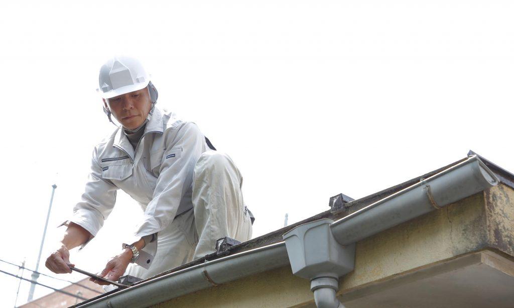 屋根の修理(雨漏り修理)