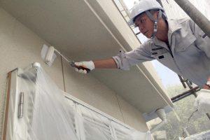 雨漏り修理のついでに外壁塗装