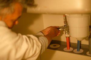 シンク下の給水管の取り換え